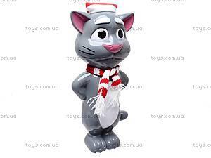 Говорящая игрушка-повторюха «Кот Том», 7412B, фото