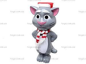 Говорящая игрушка-повторюха «Кот Том», 7412B, цена