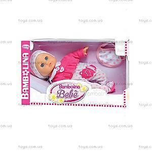 Говорящая кукла BAMBOLINA «Малышка Флора», BD348UA