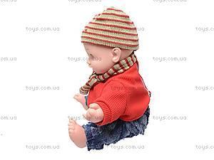 Говорящая кукла «Умняша», 60884BL-R, фото