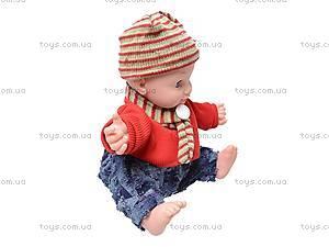 Говорящая кукла «Умняша», 60884BL-R, игрушки