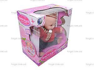 Говорящая кукла «Умняша», 60884BL-R
