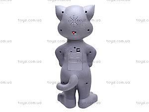 Говорящий кот «Том» с циферблатом, 369, фото