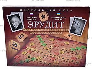 Детская настольная игра «Эрудит», большая, DT G4