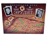 Детская настольная игра «Эрудит», большая, DT G4, купить