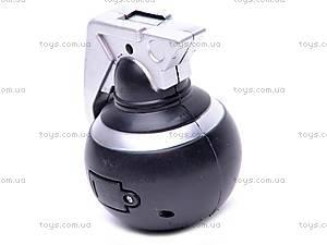 Граната, со звуковыми и световыми эффектами, RQ2112A, купить