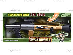 Игрушечное оружие «Гранатомет», SA931-1, фото