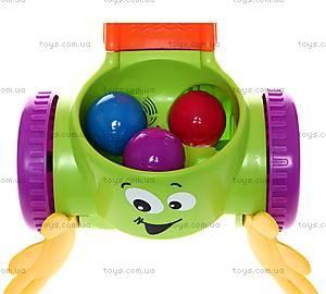 Игрушка-каталка с шариками, W9860, фото
