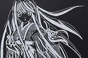 Гравюра «Девушка с длинными волосами», 7018-33, отзывы