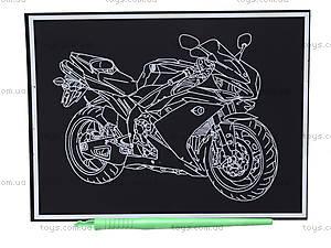 Гравюра для детей «Мотоцикл», 7017-41, фото