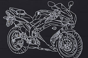 Гравюра для детей «Мотоцикл», 7017-41, отзывы