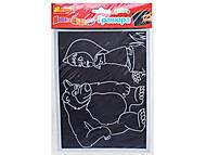Гравюра «Маша и медведь», 7009-15е, купить