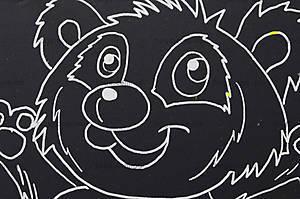 Гравюра «Панда», А5, 7008-13, фото
