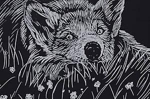 Гравюра «Собачка в цветах», 7017-48, отзывы