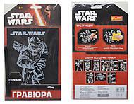 Гравюра серии Звездные Войны «Зеб», серебро, 7009-56, купить