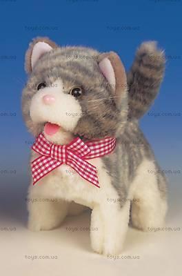 Интерактивная игрушка «Серый котенок», 9307-3G