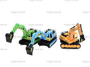 Детская игрушка «Грейдер гусеничный», 6688, toys.com.ua