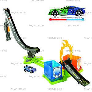 Игровой набор «Тюнинг-центр» Hot Wheels серии «Измени цвет», BGK00, купить