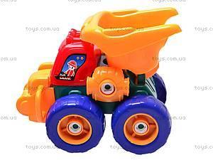 Грузовая машина-конструктор, 836, детские игрушки