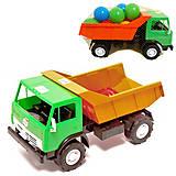 Грузовая машинка с шариками, 471в.2, отзывы