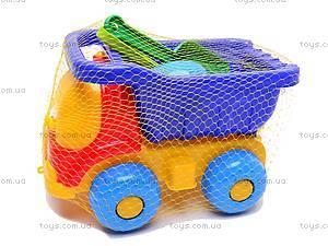 Грузовичок «Пчелка», с песочным набором, 0039cp0010103032, игрушки