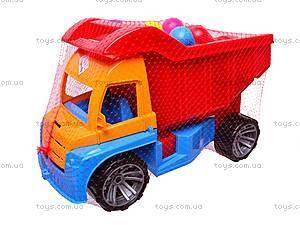 Грузовик детский с кеглями, 084, игрушки