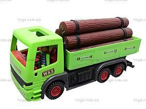 Грузовик инерционный «Дрова», WS788-75, детские игрушки
