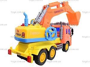 Грузовик с ковшом «Градостроитель», 351A-6, игрушки