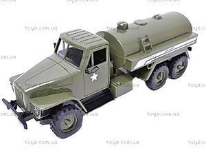 Грузовик военный инерционный «Бензовоз», YP6688-1D, фото