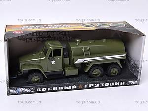 Грузовик военный инерционный «Бензовоз», YP6688-1D, цена