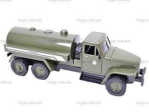 Грузовик военный инерционный «Бензовоз», YP6688-1D