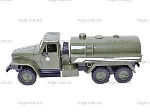 Грузовик военный инерционный «Бензовоз», YP6688-1D, игрушки