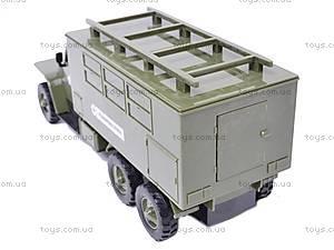 Грузовик военный инерционный «Медицинская служба», YP6688-3D, купить