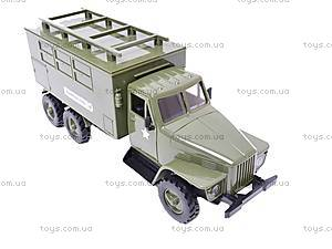 Грузовик военный инерционный «Медицинская служба», YP6688-3D