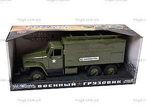 Грузовик военный инерционный «Медицинская служба», YP6688-3D, цена