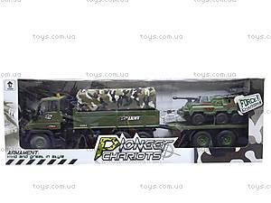 Грузовик военный с прицепом, KD007-8, фото