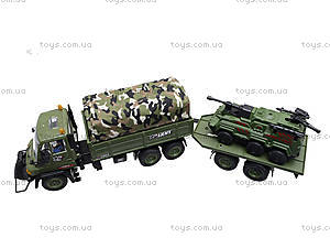 Грузовик военный с прицепом, KD007-8, отзывы