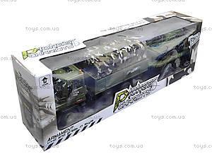 Грузовик военный с прицепом, KD007-8, игрушки