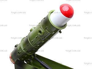 Игрушечный военный грузовик с ракетой, WD-003B04B, купить