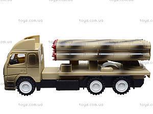Игрушечный военный грузовик с ракетой, WD-003B04B, цена