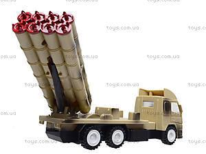 Игрушечный военный грузовик с ракетой, WD-003B04B, магазин игрушек
