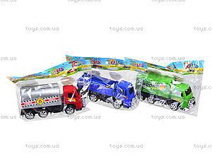 Инерционная машинка для детей «Грузовик», 595, детские игрушки