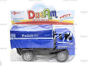 Игрушечный грузовик «Спецслужбы», 6188E6188-1-2-3, фото