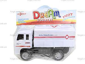 Игрушечный грузовик «Спецслужбы», 6188E6188-1-2-3, цена