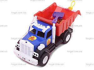 Игрушечный грузовик с лопатой и пасками, 12-010-70, фото