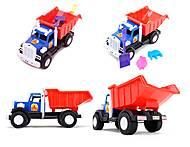Игрушечный грузовик с лопатой и пасками, 12-010-70