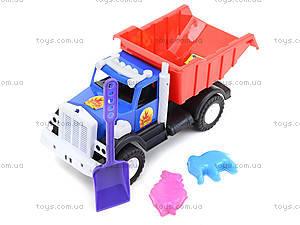Игрушечный грузовик с лопатой и пасками, 12-010-70, игрушки