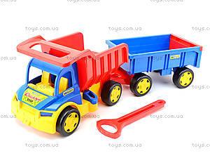 Грузовик для детей «Гигант», 65100, магазин игрушек