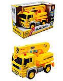 Инерционный грузовик - кран, WY510D