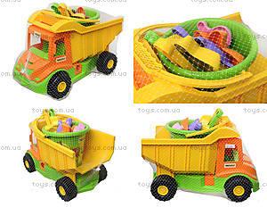 Игрушечный грузовик с набором для песка , 39204